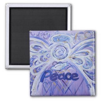 Peace Angel Magnet
