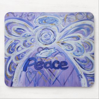 Peace Angel Mousepad