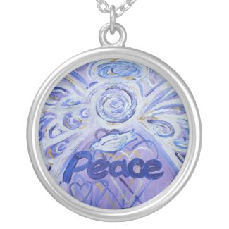 Peace Angel Necklace