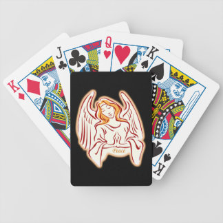 Peace Angel Playing Cards