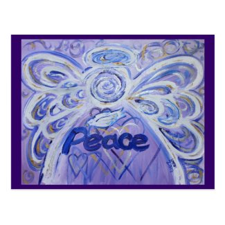 Peace Angel Postcard