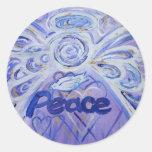 Peace Angel Sticker