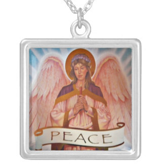 Peace angels necklace