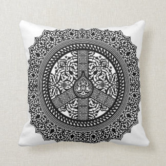 Peace Arabesque American MoJo Pillow