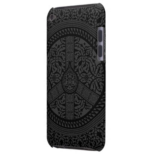 Peace Arabesque iPod Touch Custom Cases Case-Mate iPod Touch Case