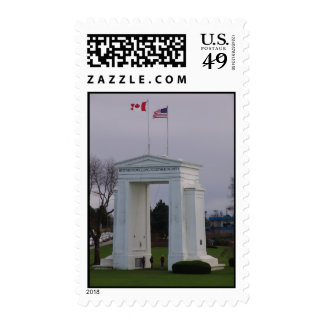 Peace Arch Stamp