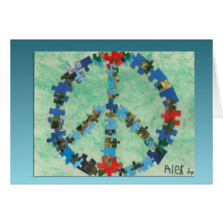 Peace Around The World Cards