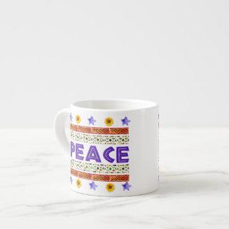 Peace Art Espresso Cup
