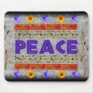 Peace Art Mouse Pad