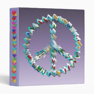 Peace Art Symbol Binder