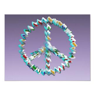Peace Art Symbol Card