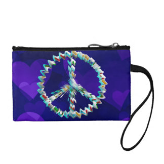Peace Art Symbol Change Purse