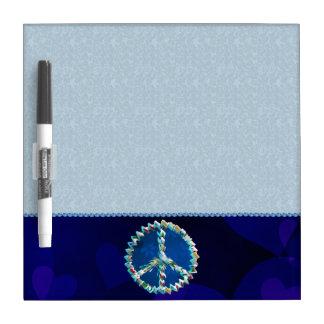 Peace Art Symbol Dry-Erase Board
