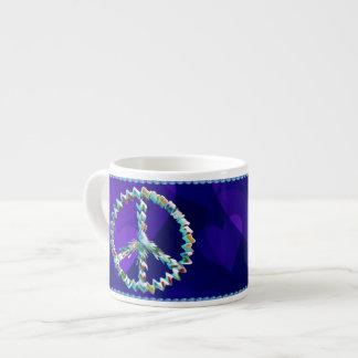Peace Art Symbol Espresso Cup