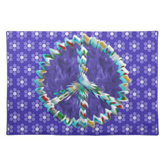Peace Art Symbol Placemat
