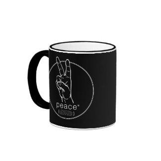 Peace Asterisk Mug