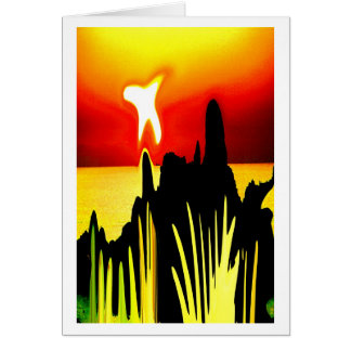 PEACE AT DAWN CARD