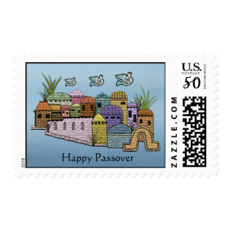 Peace at Passover Postage