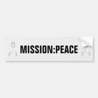 Peace Awareness Mission Bumper Sticker