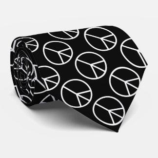 Peace B&W Tie