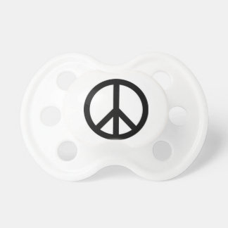 Peace baby hippie pacifer BooginHead pacifier