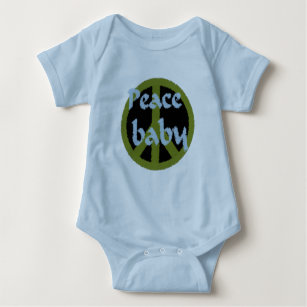 Peace baby Infant  Shirt