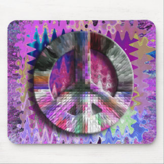 Peace Baby! Mouse Pad