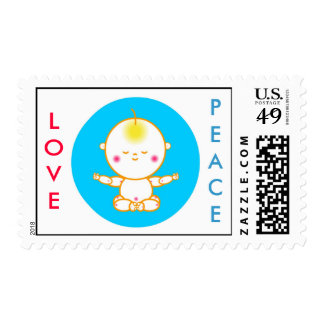 PEACE BABY Stamp