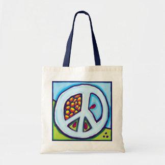 peace bag. PAIX Budget Tote Bag