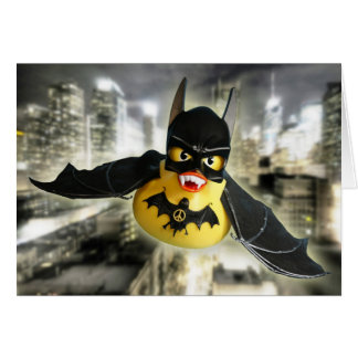 Peace Bat! Card