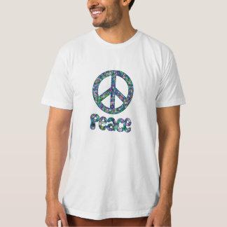 Peace Baubles Fractal Tshirt