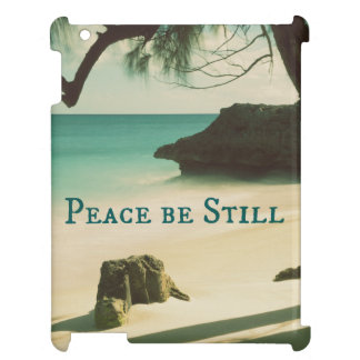 Peace Be Still Bible Verse with Ocean Case For The iPad