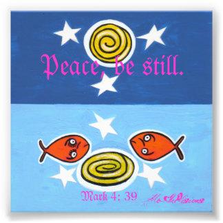 peace be still photo print