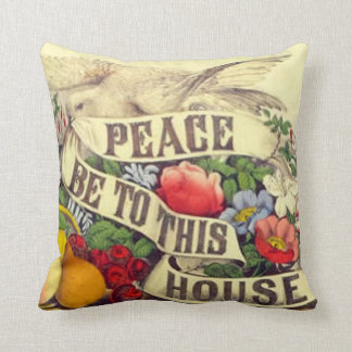 Peace Be To This House - American Mojo Pillow