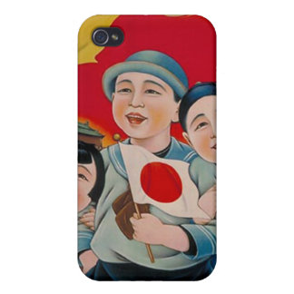 Peace be with Japan iPhone 4/4S Covers