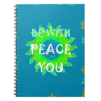 Peace Be With You Always Notebook