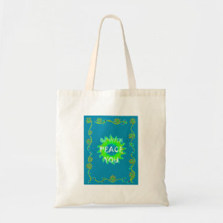 Peace Be With You Always Tote Bag