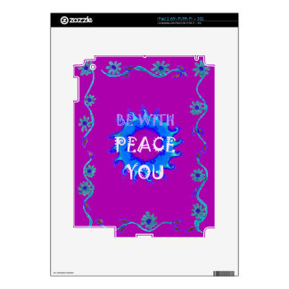 Peace Be With You Decals For The iPad 2