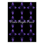 Peace Begets Peace Card