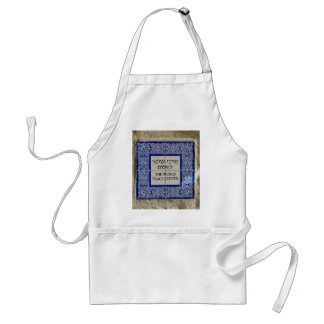 Peace Begins with Me Adult Apron