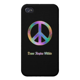 Peace Begins Within 3 Cover For iPhone 4