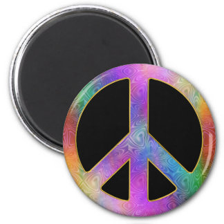 Peace Begins Within Us Magnet