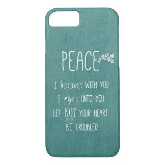 Peace Bible Verse iPhone 7 Case