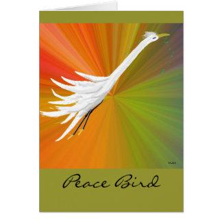 Peace Bird Card