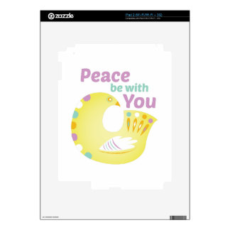 Peace Bird Decals For The iPad 2