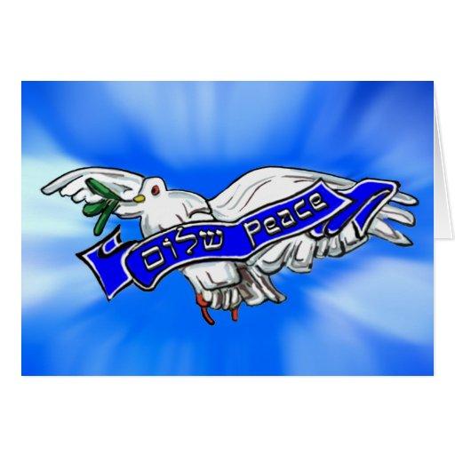 Peace Bird Greeting Card