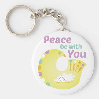 Peace Bird Keychain