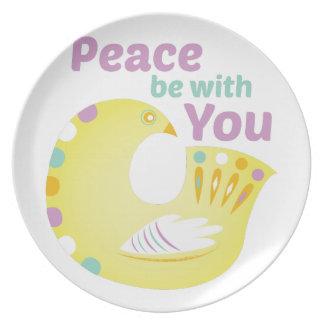Peace Bird Plate