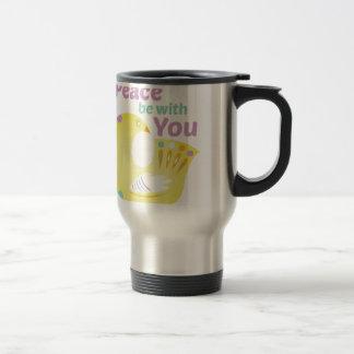 Peace Bird Travel Mug