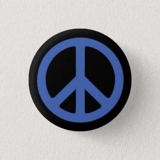 Peace Blue Button